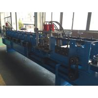 Carbon Steel , GI Rack Roll Forming Machine Angle Size 65mm Shaft Dia