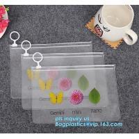 Slider Zip Bags In Hot Sale, slider tools, pen, small item package bag, ziplock vinyl slider bag pvc slider zip bag