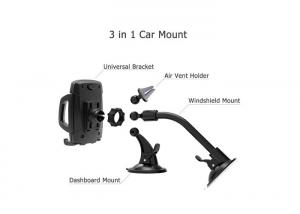 China 360 Degree Rotary Sucker Mobile Phone Holder / Car Phone Mount on sale