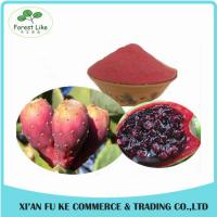 China New Beverage Ingredient Natural Pigment Nopal Cactus Fruit Extract on sale