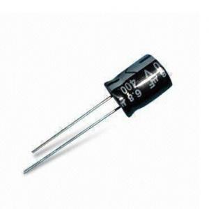 Condensador electrolítico Radial de aluminio 0.47uF 50V..