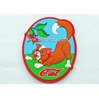 Oval shape cat cock elephant monkey island imgage design fridge magnets custom cartoon cute promotional fridge magnets