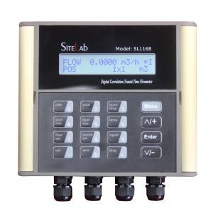 China SiteLab SL1168 Fixed Ultrasonic Flow Meter on sale
