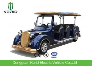 China 8-11 Seats Electric Vintage Cars With 8V 4KW DC System Maintenance Free on sale