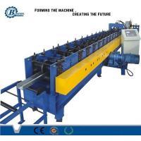 China Rollo de aluminio de la mampostería seca de la chapa que forma la maquinaria con el corte hidráulico on sale