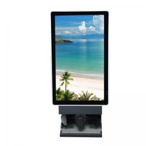 China Shopping Center Advertising Lcd Screen , Floor Standing Digital Signage on sale