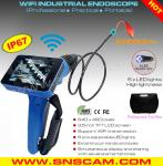 SNS-99W5 WiFi Industrial Endoscope with 3.5 inch TFT LCD display screen