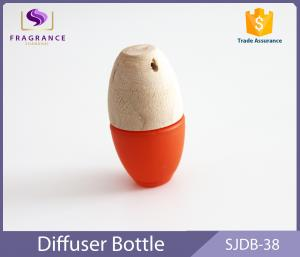 China Frosted Bottle Hanging Car Air Freshener Essential Oil Car Diffuser Orange on sale