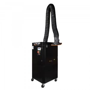 China Trolley Mobile Fume Extractor Portable Fume Extraction Units With Wheels DN160 3M Length on sale
