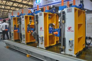 China Automatic ERW tube mill machine price/steel pipe making machine on sale