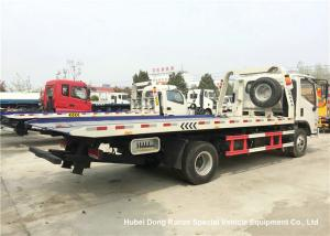 China Foton Flat Bed Breakdown Recovery Vehicle , Car Carrier Tow Truck on sale