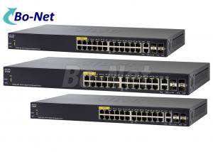 China Original CISCO 28 Port Gigabit POE Managed Switch 350 Series SG350-28P-K9-CN on sale