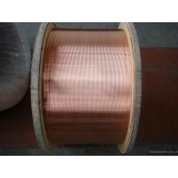 High Strength 30% CCS CATV Inner Conductor , Copper Clad Steel Wire For Electronic Products