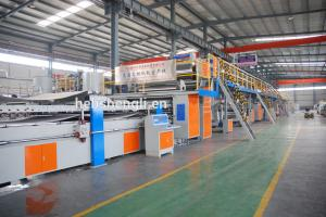 China High Grade Corrugated Cardboard Production Line With Two Year Warranty on sale