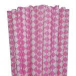 Cores misturadas das palhas do papel da palha (teste padrão do DIAMANTE) variedades de papel por atacado para fontes do banquete de casamento