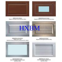 Residential Horizontal Aluminium Garage Doors With Automatic Safety Protection Device