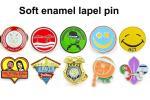 Nickel Plating Custom Soft Enamel Pins Badges Plus AP Rhinestone Letter Flower Crystal Cross