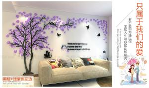 China family tree wall stickers  silicone frame  family tree wall decal on sale