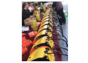 China Colorful Portable Hook Type Mini Electric Wire Rope Hoist Suspending 20 Meter Height on sale