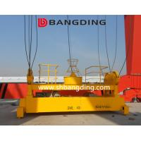 China BANGDING hydraulic telescopic container spreader with gantry crane 20ft 40ft container spreader on sale