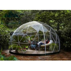 China Light Frame Steel Structure Portable Dome Tent , Dome Shaped Tent 10M/20M/30M on sale