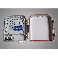 China FTTB Ultra Violet Resistant Mini 16 Core ST / LC Fiber Optic Terminal Box on sale