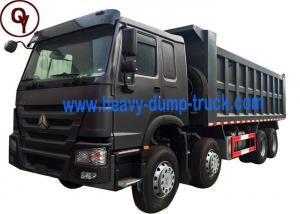 China 8x4 Drive Type HOWO 12 Wheeler Dump Truck with 11 - 20T Load Capacity on sale