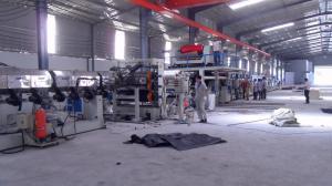 China cadena de producción compuesta de aluminio de la placa ACP de 1600m m los 8m/minuto grueso de 1m m - de 6m m on sale