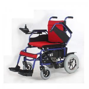 China Portable Motorized Wheelchair Automatic With 24 Volt Lead Acid Battery on sale