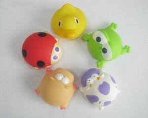 China Colorful Squirting Newborn Baby Bath Toys Sea Animal , Colorful Animal Bath Toys on sale