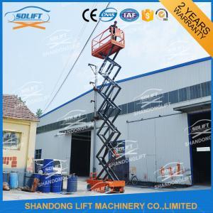 China 300kg 12m Self Propelled Mobile Elevated Work Platform For Aerial Work Platform on sale