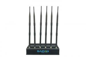 China DC12v Car Cell Phone Signal Jammer Non Adjustable For Conference Rooms / Museums on sale