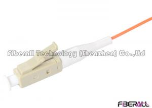 China Communication Fiber Optic Pigtail Multimode 0.9mm Cable With LC Beige Connector on sale