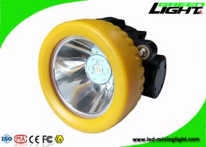 China All In One Structure Coal Miner Hard Hat Light 5000lux PC ABS IP68 Waterproof on sale