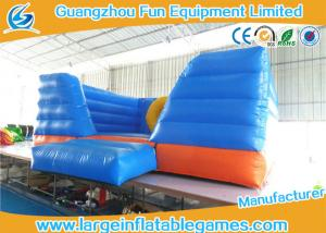 China Outdoor Inflatable Air Bouncer , Fantastic Mini Jumping Castle For Hire on sale