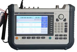 China AV1431/1431A Portable RF Signal Generator , Built-In Modulation on sale