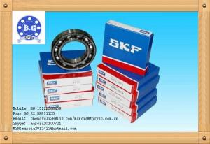 China Single Row Deep Groove Ball Bearing , SKF ZZ 2RS Bearings ID17mm on sale