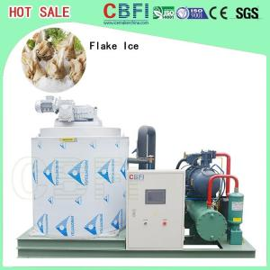 Quality Large Capacity Ice Flakes Making Machine , Commercial Ice Makers 1000 Kg To for sale
