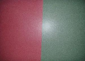 China Wrinkled / Matte Color Coated Roofing Sheets , PPGI Steel Sheet For Roofing External Wall on sale