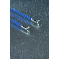 PE Coated Disposable Alligator ForcepsSurgical Instruments Laser Welded