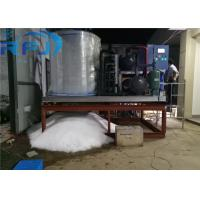 Shaved Flake Ice Machine , 380V/50Hz/3P Ice Block Machine 1 Year Warranty