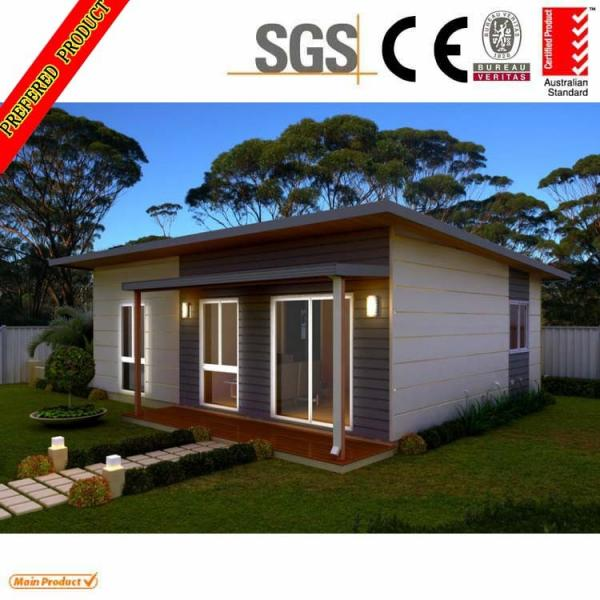 High Quality Steel Building Modular Homes Design Prefab Prefabricated House  60sqm Images