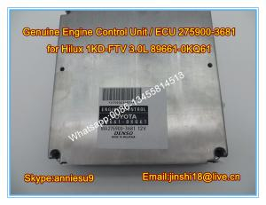China Denso Original Engine Control Unit/ ECU 275900-3681 for Toyota Hilux 1KD-FTV 3.0L 89661-0KQ61 on sale