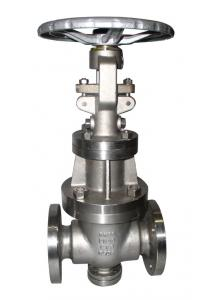 China Full Port Cast Steel Gate Valve With Solid Wedge And Flexible Wedge on sale