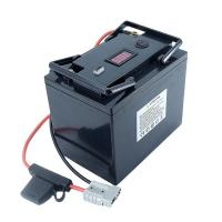 China HHS 5000 Times LiFePO4 12v 50ah Solar Battery on sale