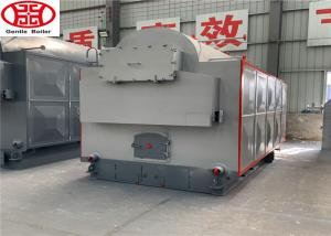 China Single Drum Horizontal Wood Steam Boiler Machine 2 Ton For Package Industry on sale
