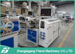 China High Output Pvc Wall Panel Making Machine , Pvc Wall Panel Extrusion Line on sale