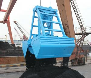 China Cargo Ship Wireless Remote Control Grab For Load and Unload Coal and Sand In Port on sale