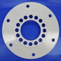 CNC Machining Zirconia Ceramic Gas Seal with Holes for Petroleum Equipment