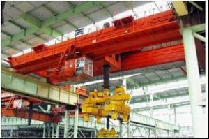 China Explosion proof double girder overhead crane with hook on sale